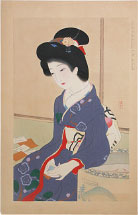 Ikeda Terukata January, The Game of Poem Cards
