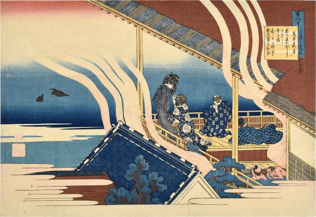 Hokusai, Hundred Poems