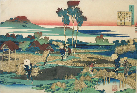Katsushika Hokusai The Hundred Poems Told By The Nurse Tenchi Tenno Scholten Japanese Art