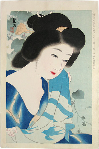 Nakayama Shuko, July, After a Bath