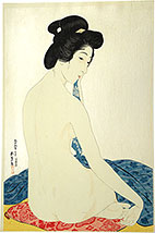 Hashiguchi Goyo, Woman After a Bath