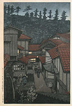 Souvenirs of Travel, Hasui