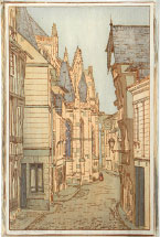 Philip Gregory Needell La Grande Rue, Caudebec