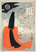 Yoshitoshi, One Hundred Aspects of the Moon