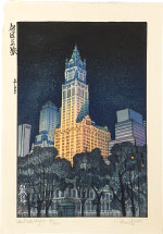 Paul Binnie New York Night (dark teal variant, 67/100)