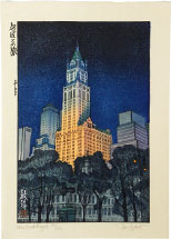 Paul Binnie New York Night (Prussian blue variant, 88/100)