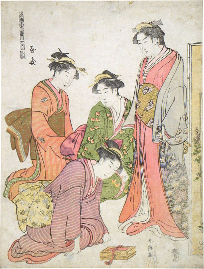 Katsukawa Shuncho Modern Fashions from the East: Yasu