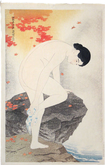 Ito Shinsui, Fragrance of the Hot Springs