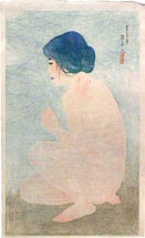 Ito Shinsui Bathing in Early Summer
