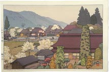 Toshi Yoshida Village of Plums