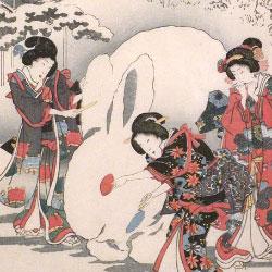 Utagawa Hiroshige & Utagawa Kunisada (Toyokuni III)