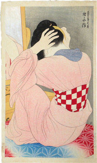 Ito Shinsui Woman Wearing an Under-Sash