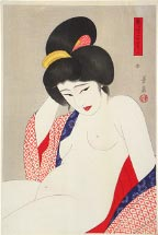 Ohira Kasen Two, After a Bath (suggested title)