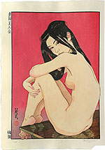 Paul Binnie, Engawa, woodblock print