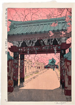 Paul Binnie Cherry Blossoms at Ueno