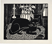 Kyohei Inukai Cat on a Table