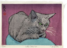 Paul Binnie Little Grey Cat