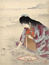 Mizuno Toshikata Spring Sea