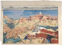 Paul Binnie Cloud Shadows, Grand Canyon Color Test II (Pale Variant)