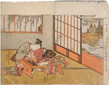 Isoda Koryusai Prosperous Flowers of the Fashionable Twelve Months