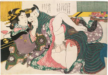 Kikugawa Eizan Selections from the Brocade Quarter: Teahouse on Nakanocho in Yoshiwara