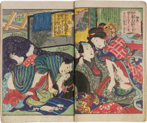 Utagawa School Shunga Modern Collection of Colors