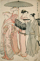 Torii Kiyonaga Customs of the Eastern Capital