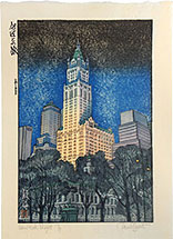 Paul Binnie New York Night Test (gomazuri sky - black/Prussian blue)