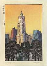 Paul Binnie New York Sunset Test (pale orange sky)