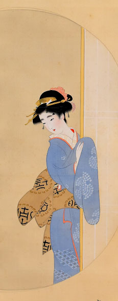Mishima Shoso, Beauty at a Round Window