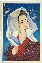 Paul Binnie, Four Seasons, Winter, woodblock print