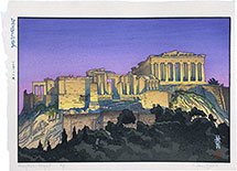 Paul Binnie, Travels with the Master: Acropolis - Night