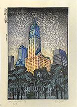Paul Binnie, New York Night, proof