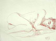 Binnie, Sleeping Boy Naoyuki, original drawing