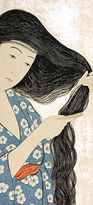 Goyo, Woman Combing Her Hair