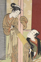 Courtesan and Customer at the Ibaraki-ya House