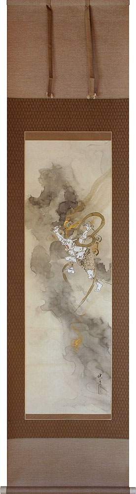 Gyotei hanging scroll painting