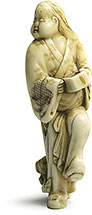 ivory netsuke from Genji