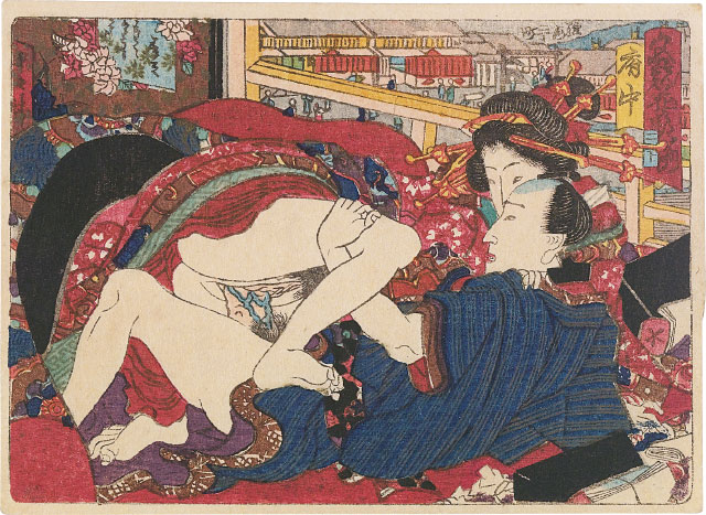 Attributed to Utagawa Kunisada, Fuchu