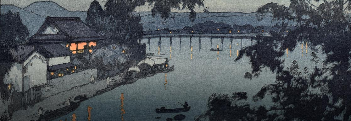 Shin-hanga prints exhibition